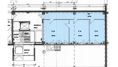 FONTUS-Businesspark Grundriss Gebäude B EG